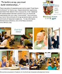 """Food co-ops grow together at 2013 """"Fresh Starts"""" Conference!"""
